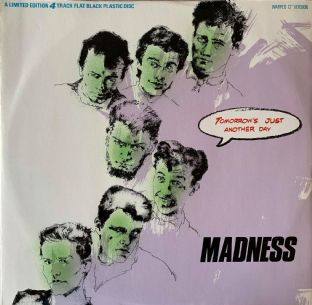 "Madness ‎- Tomorrow's Just Another Day (12"") (EX/VG-EX)"